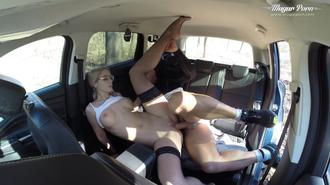 Sharon White Creampied In The Forest Clip 1 00:14:40